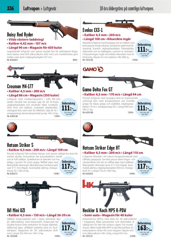 luftgevär med kikarsikte 4 5 mm