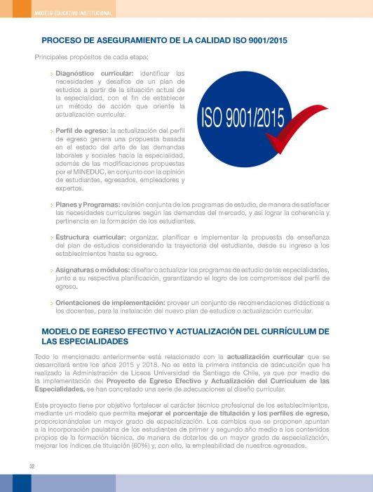 Modelo Educativo Institucional Administración Delegadas De
